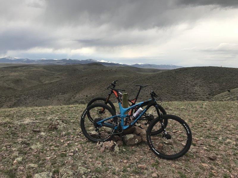 Tim's Ridge, looking into the East Pioneers
