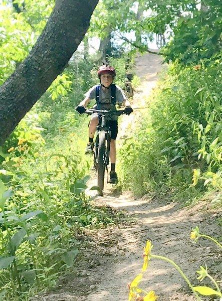 Bluff Creek Ranch. Fun ride!