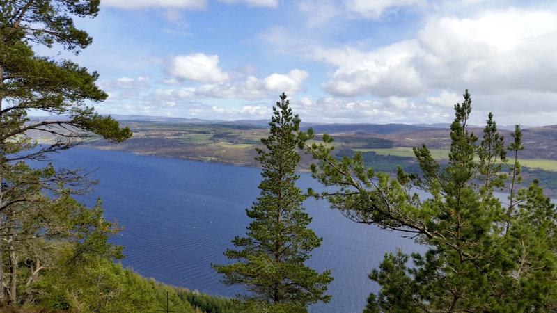 Loch Ness, big skies