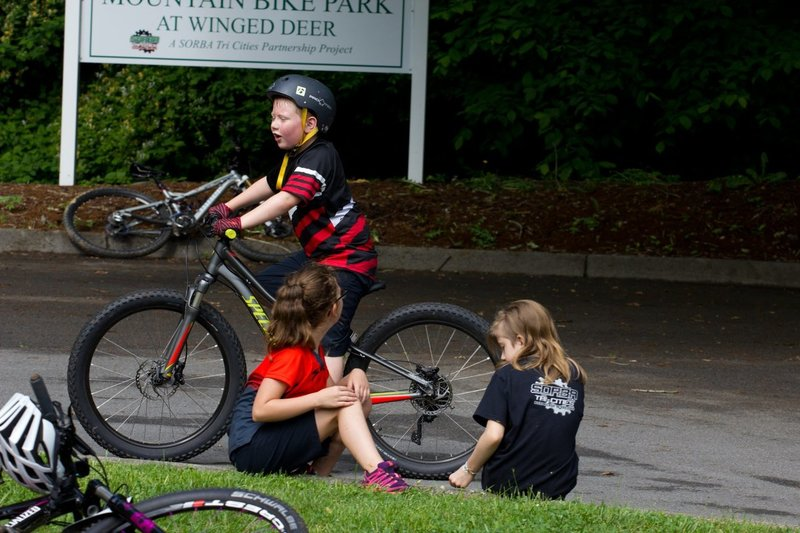 Take a Kid Mountain Biking at Winged Deer