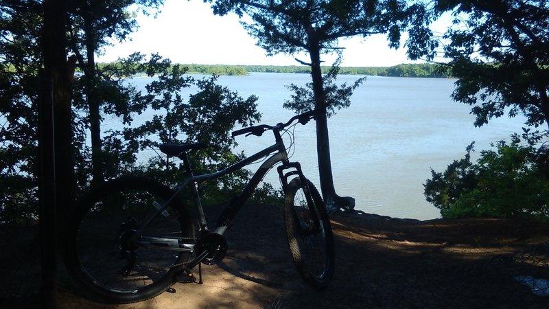 Overlooking Arkansas River