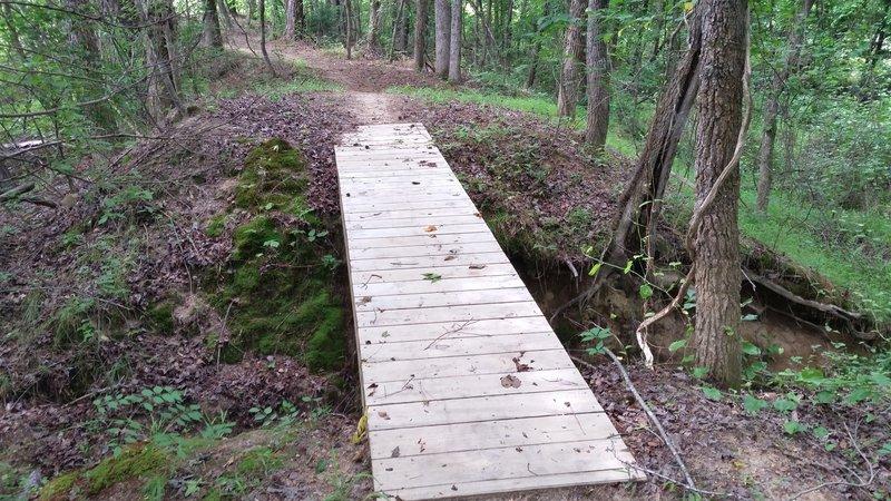 Bridge on Turtle Shell #2 Trail.