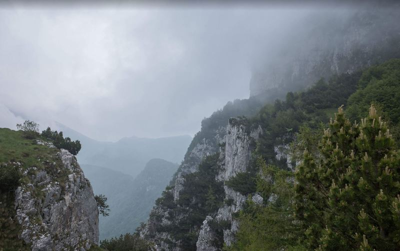 View near Punta di Vo