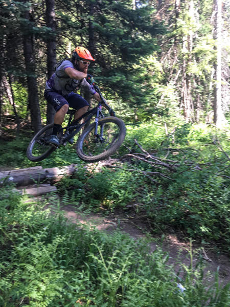 Though not as much intrigue or flow as it's counterpart, Grouse Ridge, BTR still has some fun features and a good amount of chunk to keep things really fun. Fantastic construction on this trail system!