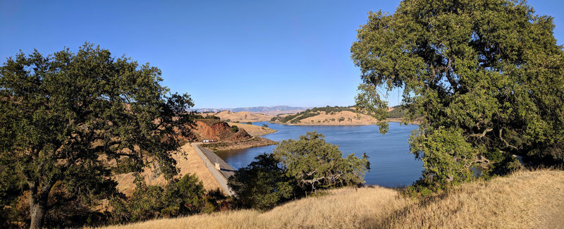 Calero County Park - View of the Calero Reservoir.