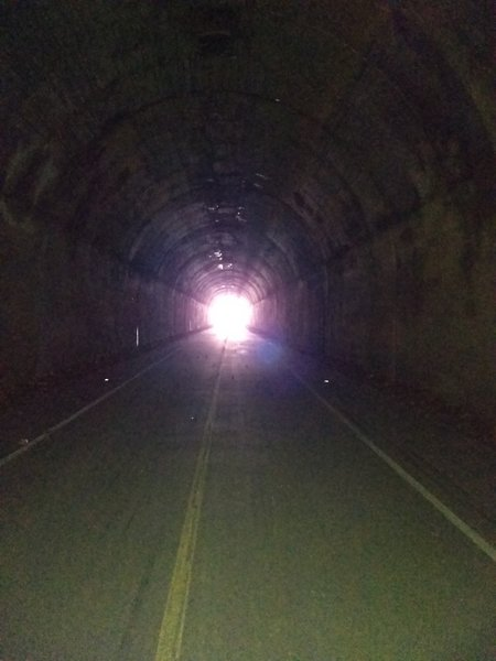957-foot Borden Tunnel