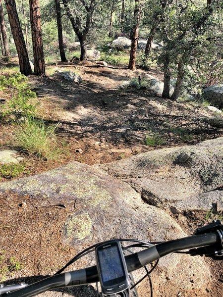 Small rock slab