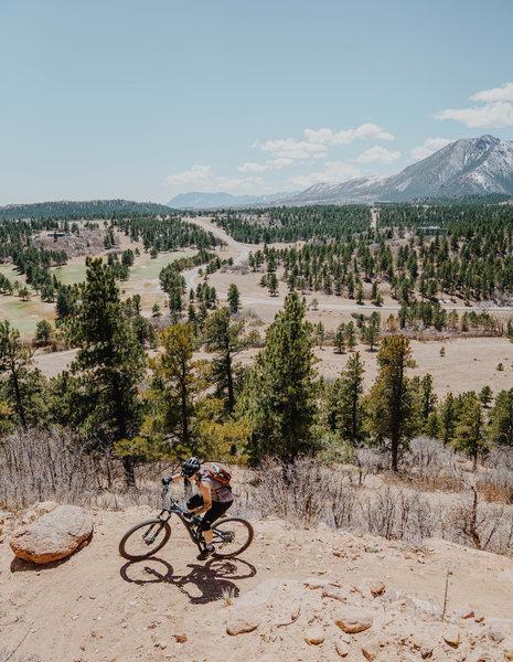 Usafa Falcon Trail Mountain Bike Trail Air Force Academy Colorado