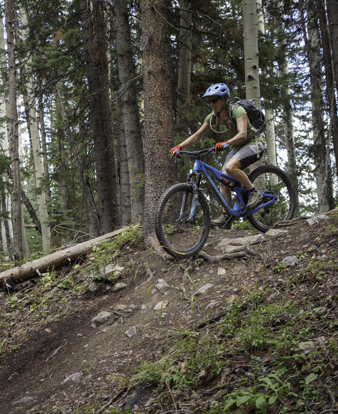 The Snowmass Loop Mountain Bike Trail, Snowmass Village