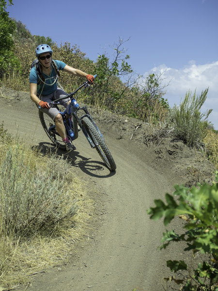 berms galore make this a great downhill