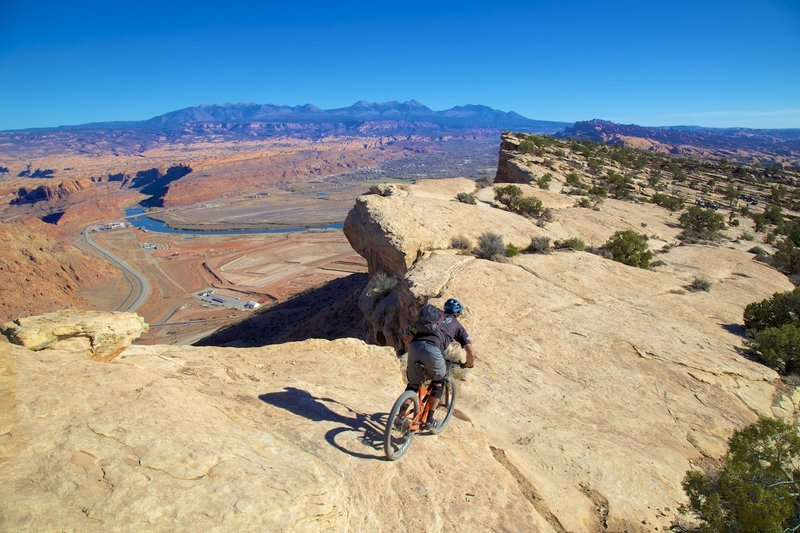 Riding the rim on Magnificent 7