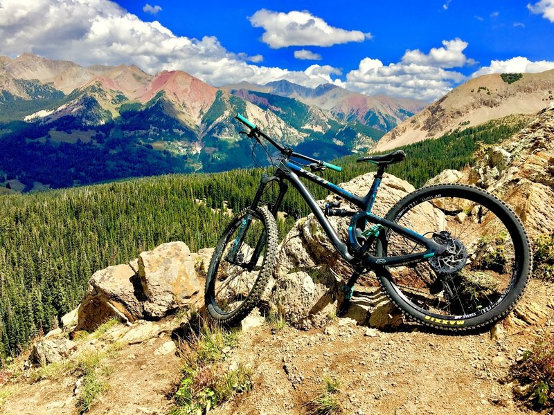 Crested Butte atop 403