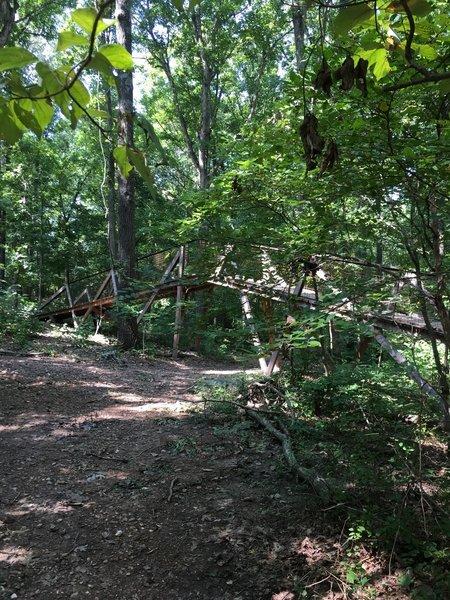 Bridge over Ester's trail