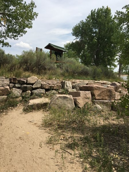Short trail in cherry creek res.