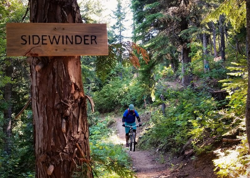 The flowy, fast end of Sidewinder.