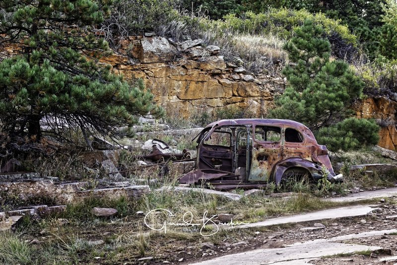The car....Picture rock Trail, Lyons, CO