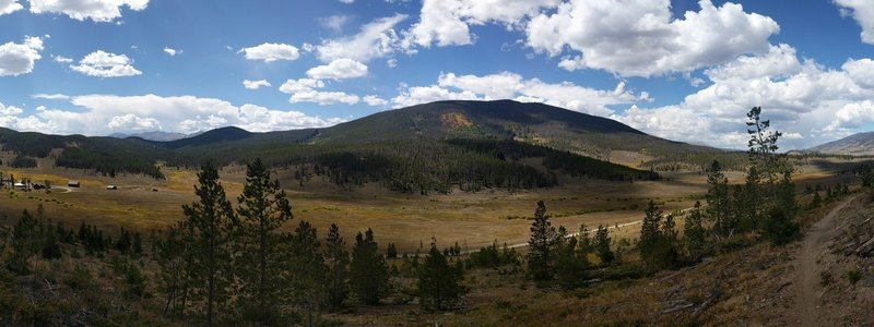 Panorama from Soda Ridge