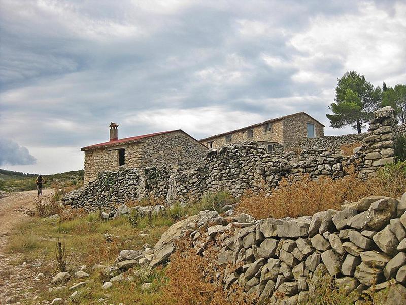 The small Moorish village of Cases de Dalt.