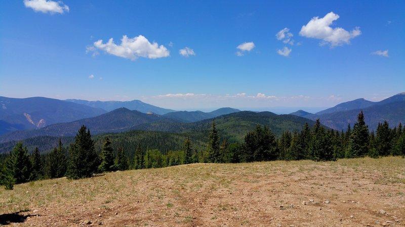 View toward Questa from Greenie Peak.