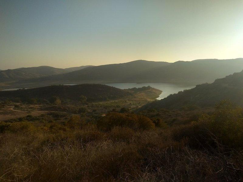 View of Irvine Lake