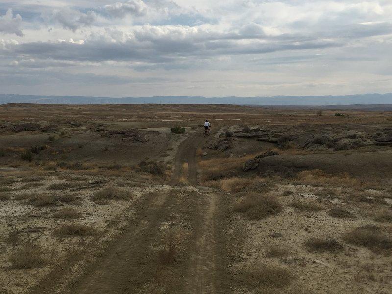 Nice terrain along the trail.