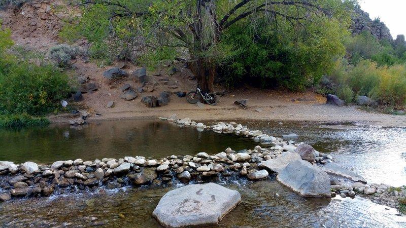 Swimming hole near the John Dunn Bridge.