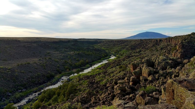 A timeless view of the Rio Grande.