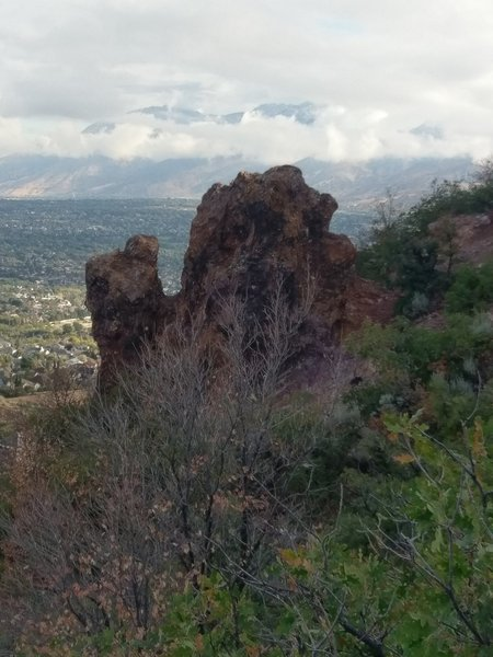 Top of the Red Rock Climbing Crag