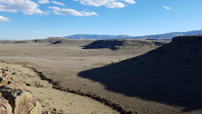 Looking south from Limekiln Ridge