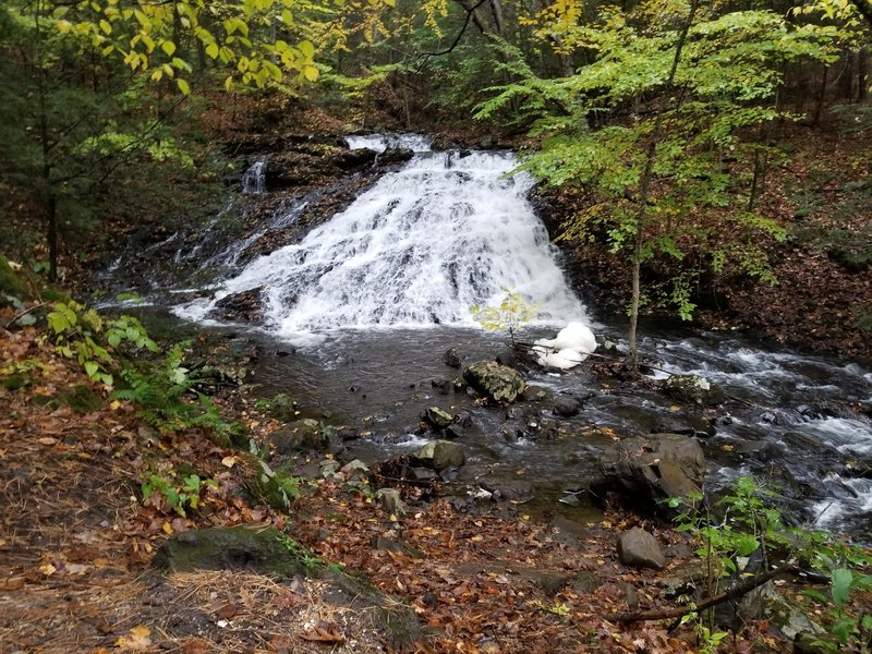 waterfall in Bear hole