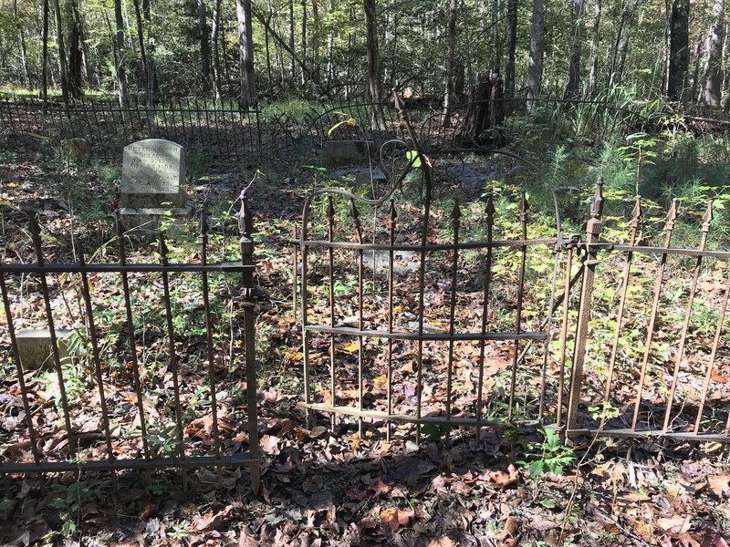 Cemetery off Centerline