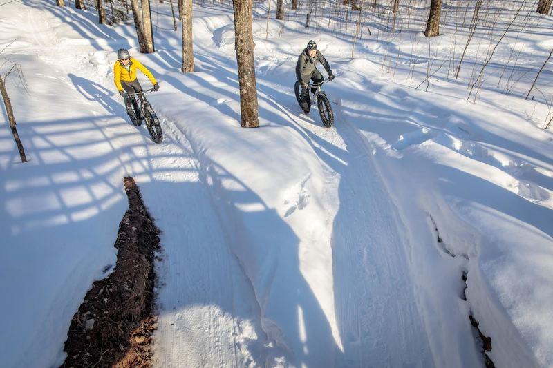 Fat Biking at WinMan Trails