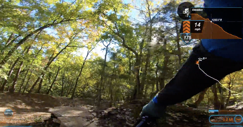 Get ready for this drop that will then roll into a berm.