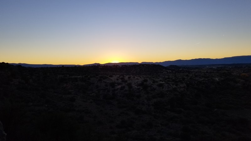 Sunset from sunset loop.