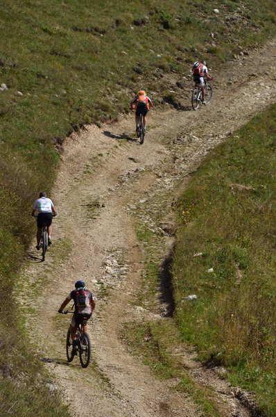 Bikers on the way