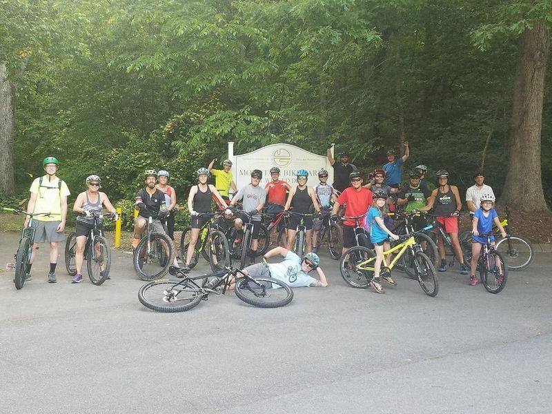 SORBA Tri-Cities Group Ride at Winged Deer
