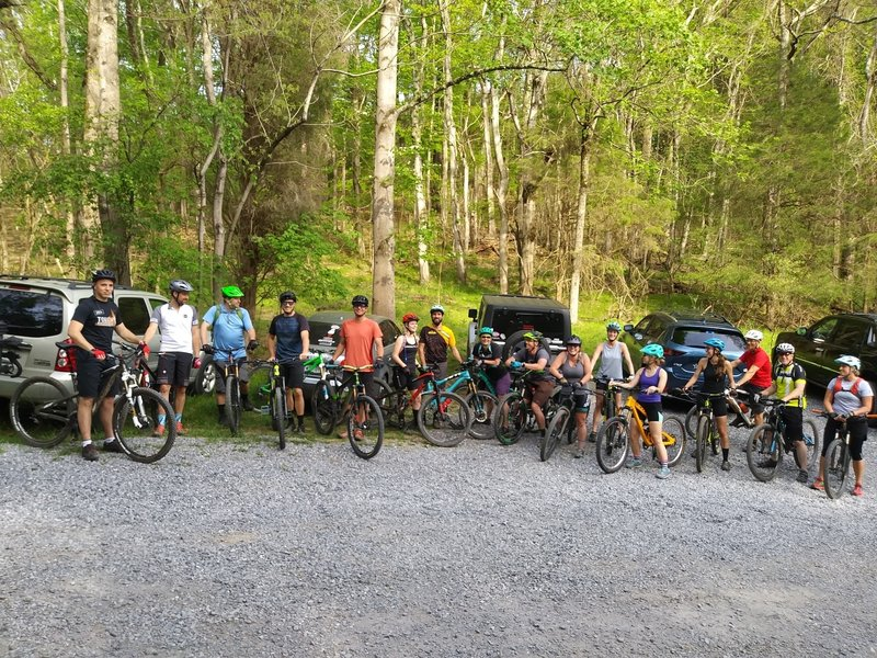 SORBA Tri-Cities Group Ride at Warriors Path State Park
