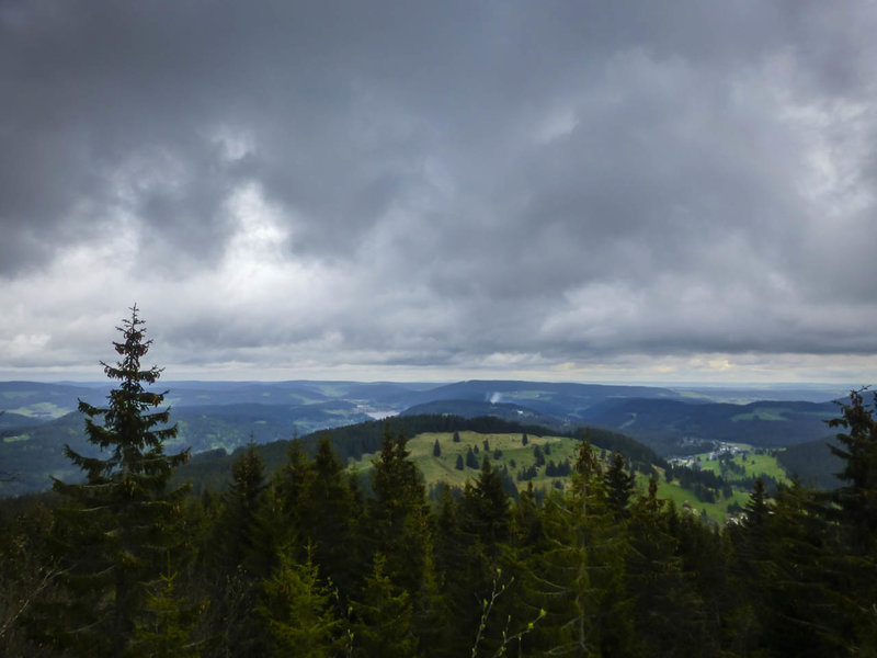 The Titisee from the Zweiseenblick viewpoint.