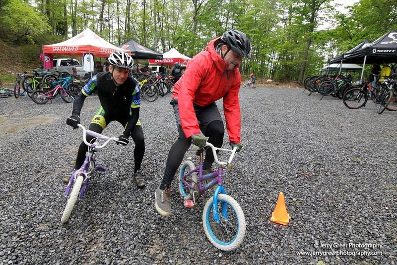 Tiny Bike Race at Bike @ Bays, photo by Jerry Greer
