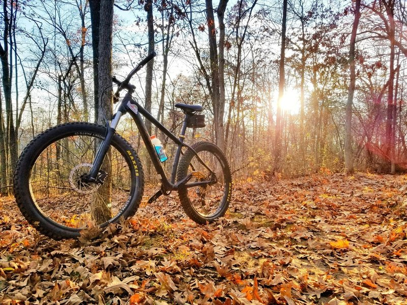 Late fall ride at Sidie.