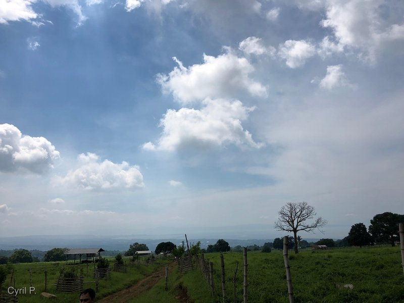 Breath-taking view of Davao City at entrance of Nenita Trail - still at RP Trail.