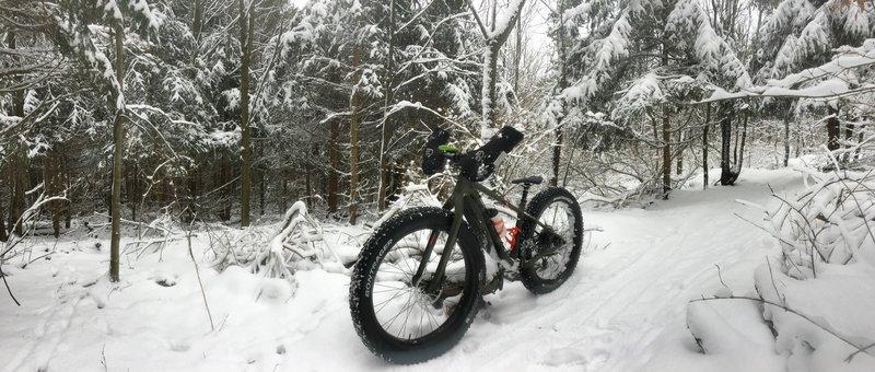 Winter ridin'