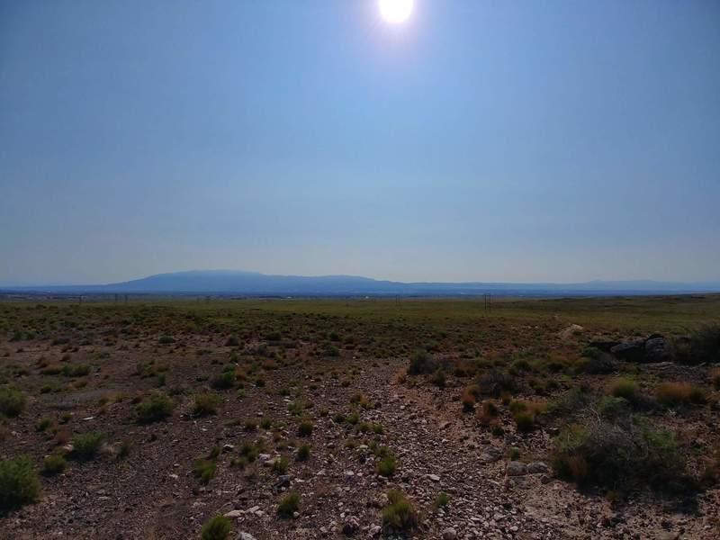 Rocky trail near volcano peak