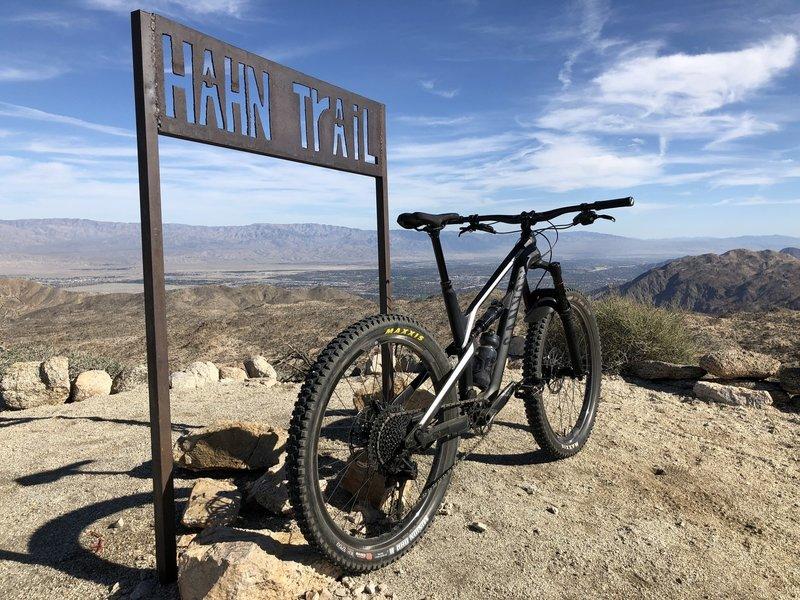 Start of Hahn downhill.