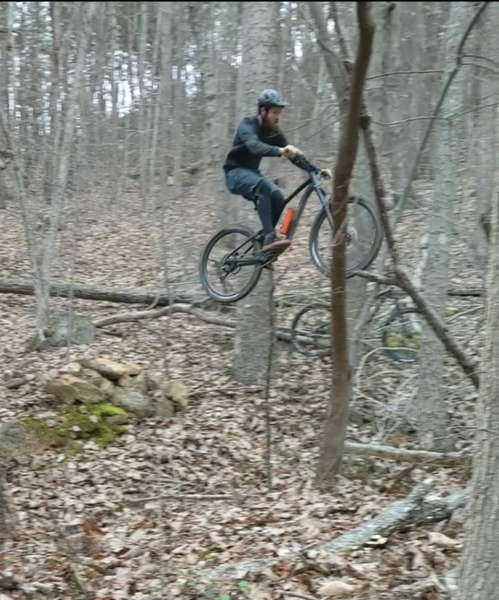 Spencer mountain loop has some great jumps!