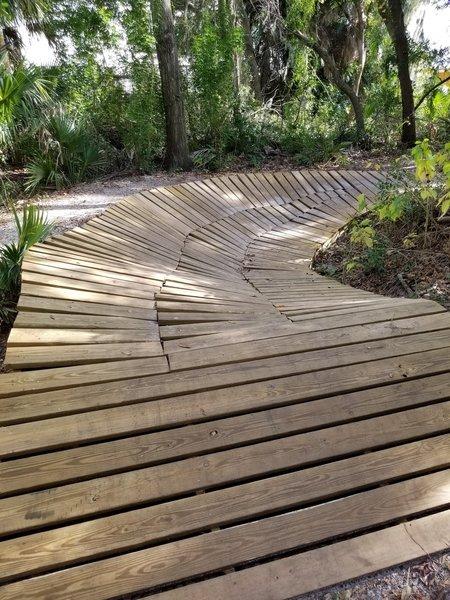 Fun, beginner friendly wooden feature.
