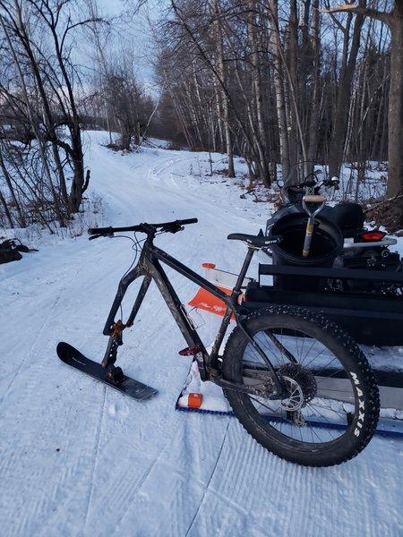 Ski Bike!
