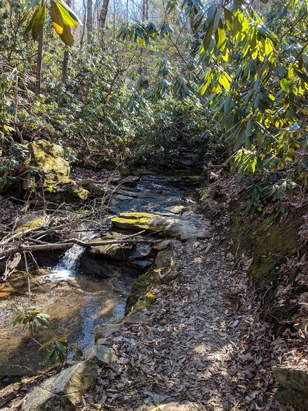 Technical creek crossing