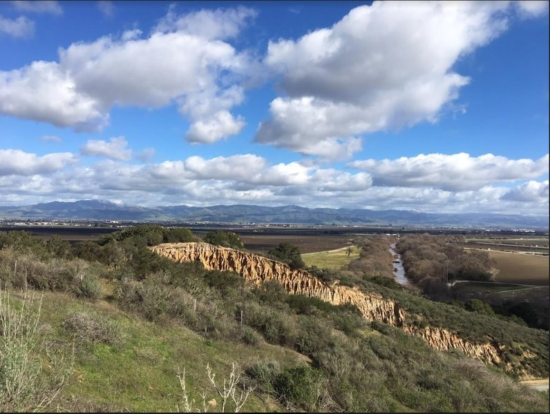 Fort Ord Trail 30 Overlooking the Salinas River