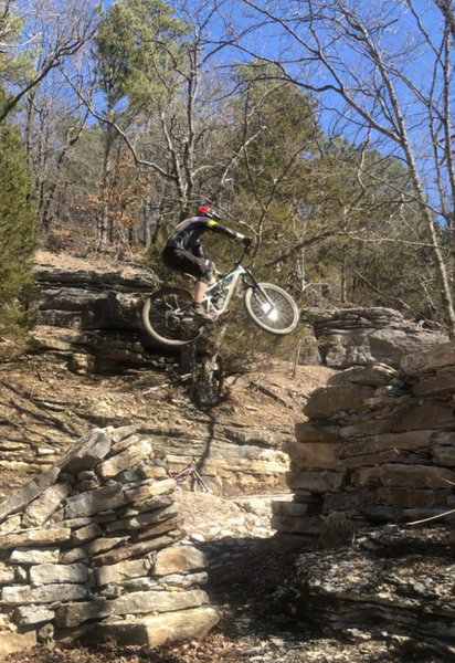 Hitting the step up on DH-1